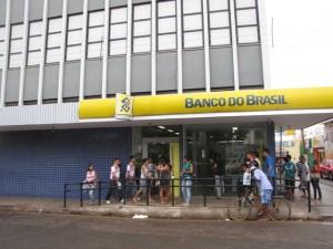 Agência do Banco do Brasil, no centro de Picos