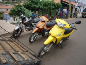Motos apreendidas em Picos - Foto: Edivan Araújo/AgoraEd