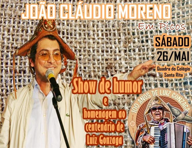 Photo of João Cláudio Moreno fala sobre o show que fará hoje (26) em Picos