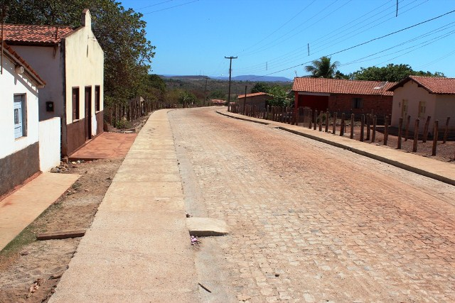Photo of Prefeitura conclui calçamento em Samambaia dos Marques