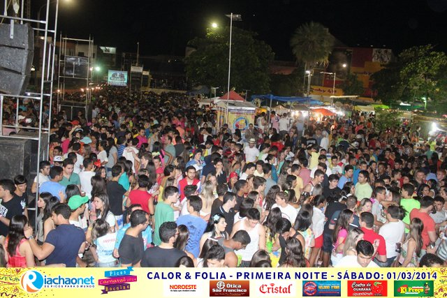 Photo of Av. Getúlio Vargas lota na primeira noite do carnaval 2014 de Picos