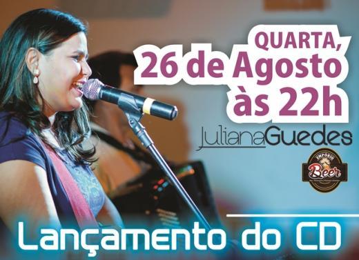 Photo of Cantora Juliana Guedes lança CD nesta quarta-feira, 26