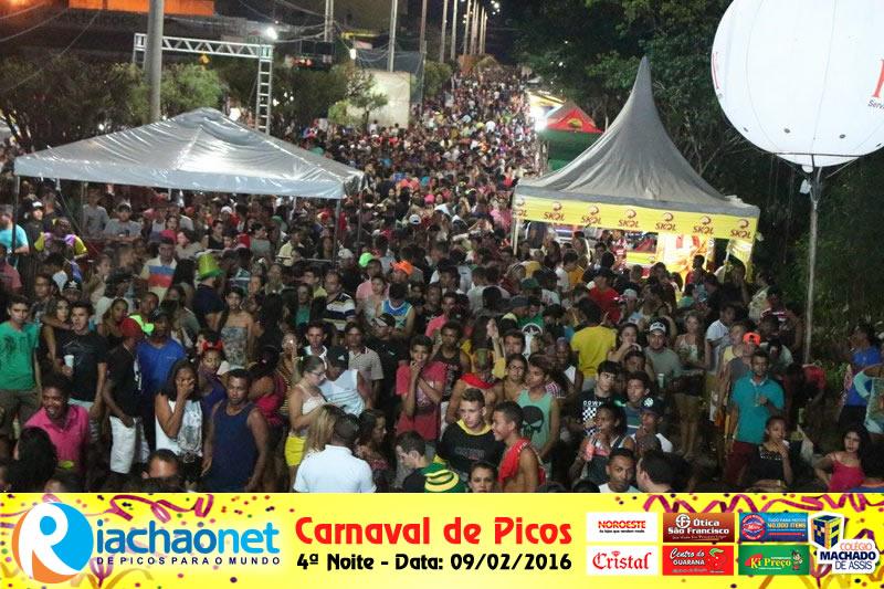 Photo of Carnaval de Picos tem público de 12 mil pessoas na última noite