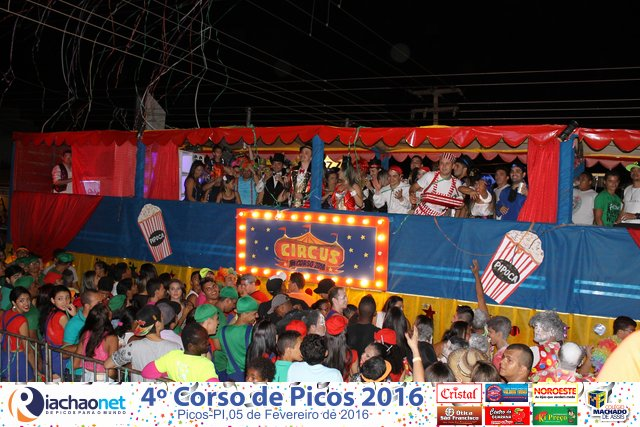 Photo of Corso abre o Carnaval de Picos 2016