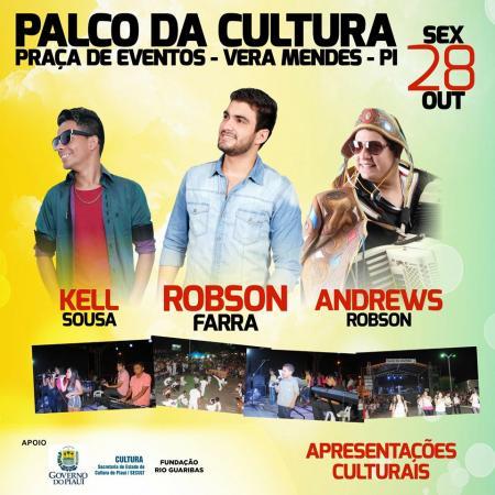 Photo of Edição do Palco da Cultura será realizada em Vera Mendes