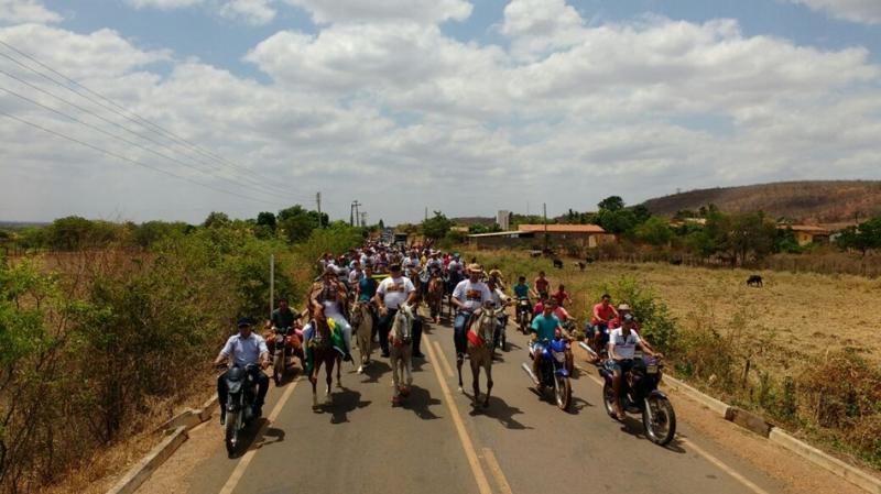 Photo of Vaqueiros participam de missa e cavalgada em Sussuapara