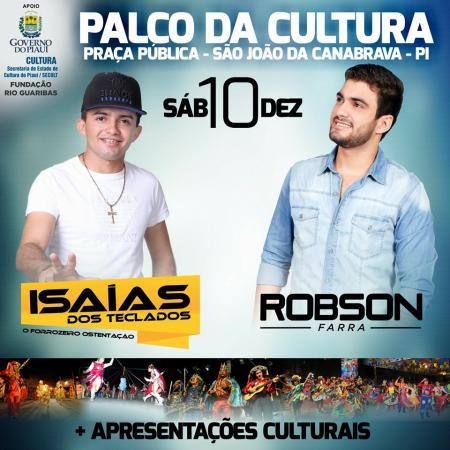 Photo of Palco da Cultura será realizado em São João da Canabrava