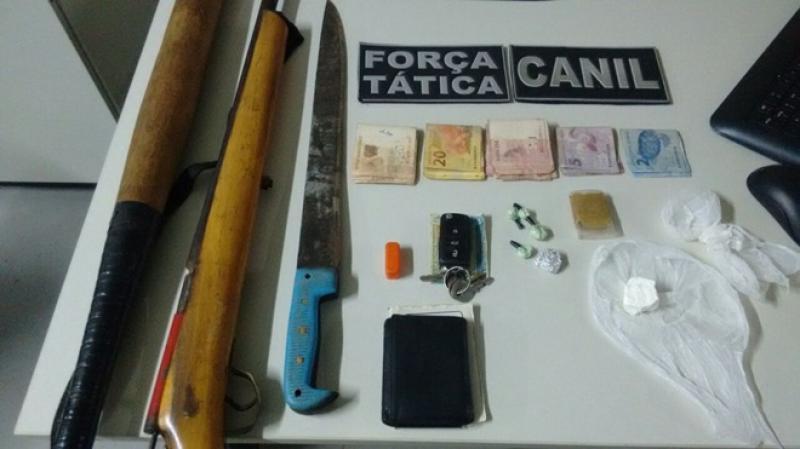 Photo of Polícia faz apreensão de cocaína e armas em Sussuapara