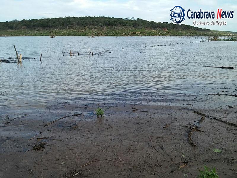 Photo of Chuvas elevam o nível da Barragem de Bocaina