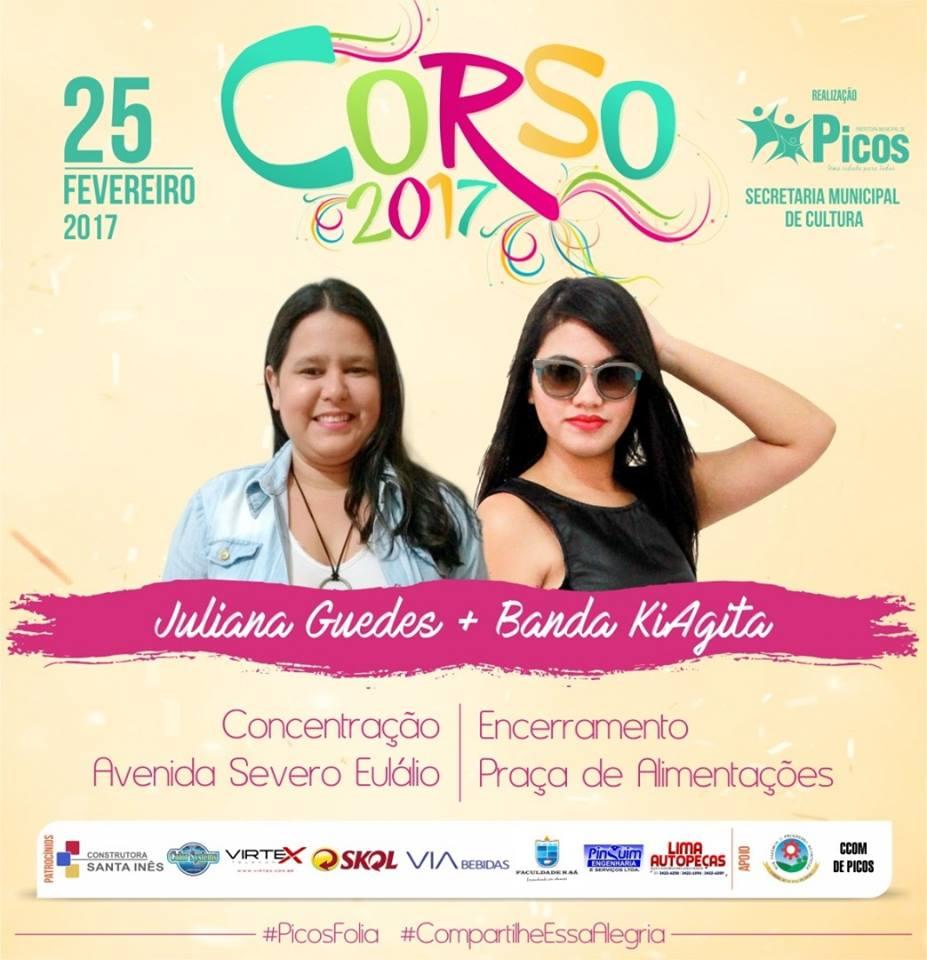 Photo of Corso irá abrir o Carnaval de Picos 2017