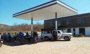 Posto de combustíveis PI-375 em Santana do Piauí
