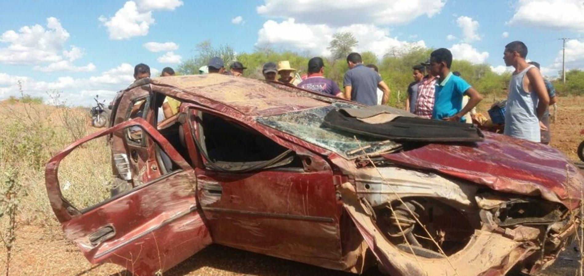 Photo of Acidente na zona rural de Isaías Coelho deixa uma pessoa morta e outra ferida
