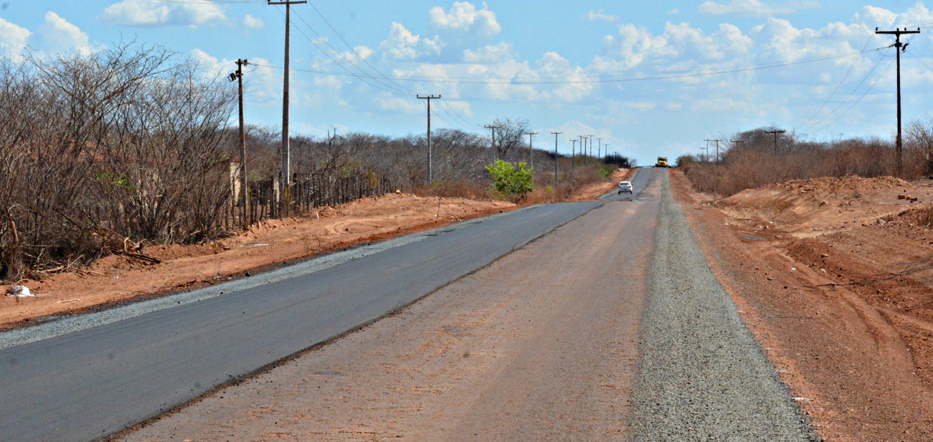 Photo of Obras de reconstrução do asfalto entre Itainópolis e Picos são paralisadas.