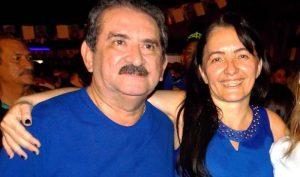 Sória ao lado do esposo, Francisco Macêdo (Foto: AgoraED)