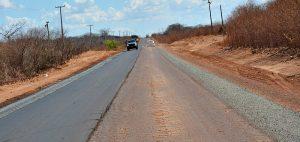 Com um total de 40 quilômetros, a obra foi iniciada no ano passado e paralisada por falta de recursos