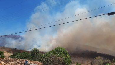 Photo of Incêndio em vegetação assusta moradores de Santana do Piauí