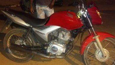 Photo of Motocicleta roubada em Santo Antônio de Lisboa é recuperada em Pio IX