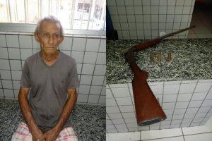 Antenor Mendes Leite de 71 anos