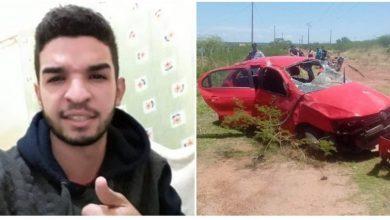 Photo of Jovem sobrevive a acidente que vitimou dois de São Julião na BR-230