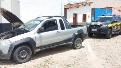 Photo of Abordagem da PRF em Jaicós, apreende veículo roubado em Brasília