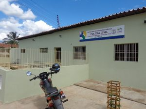 Homem é investigado pela Delegacia Regional de Valença do Piauí — Foto: Sérgio Alves/Portal V1