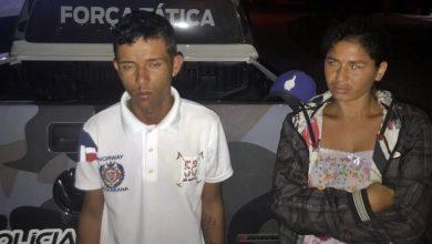 Photo of Homem é preso após ser flagrado com drogas em abordagem policial