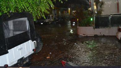 Photo of Forte chuva derruba árvore e deixa ruas alagadas em Simões