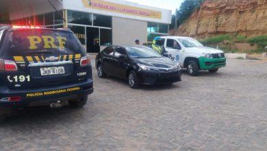 Photo of Em Monsenhor Hipólito, polícia recupera Corolla roubado