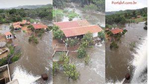 barragem de Mesa Pedra, em Valença do Piauí.