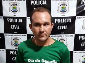 """Viceleno dos Santos, mais conhecido como """"Pelado"""". Ele é suspeito de estuprar uma idosa de 80 anos, que sofre de Alzheimer."""