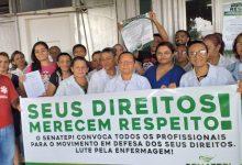 Photo of Técnicos e enfermeiros aprovam greve por tempo indeterminado em hospitais estaduais