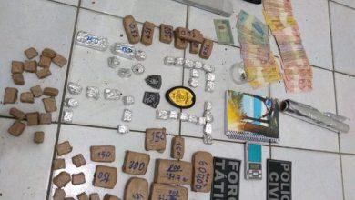 Photo of Fronteiras: Suspeito de tráfico é preso com 1kg de maconha