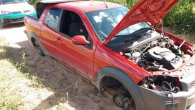 Photo of Veículo tomando de assalto em Padre Marcos é encontrado abandonado na zona rural de São Julião