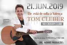 Photo of Tom Kleber faz show em Valença dia 21 de junho