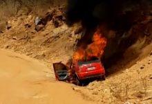 Photo of Em São Luís do Piauí, carro de ex-vereador pega fogo