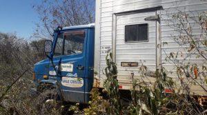 A Polícia Militar de Jaicós foi acionada e quando chegou ao local, encontrou só o caminhão.
