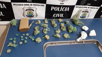 Photo of Polícia faz operação em Monsenhor Hipólito e apreende drogas