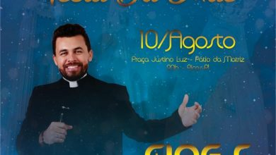 Photo of Padre Jardel se apresentará em Picos amanhã durante a Festa de Nossa Senhora dos Remédios