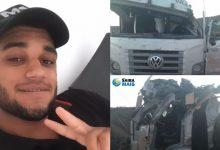 Photo of Caminhão carregado de caju tomba na BR-407 e motorista fica em estado grave
