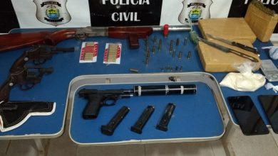 Photo of Polícia Civil apreende grande quantidade de drogas e armas em Picos