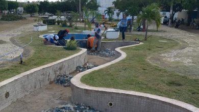 Photo of Prefeitura inicia revitalização da praça Jornalista Tantonho Silva