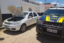 Photo of PRF recupera na BR 316 veículo roubado em Campo Grande do Piauí