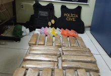 Photo of Em Oeiras, Polícia Civil apreende 31 tabletes de droga que vinha para Picos