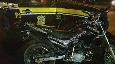 Photo of PRF apreende motocicleta na BR-020 tomada de assalto em Fortaleza (CE)