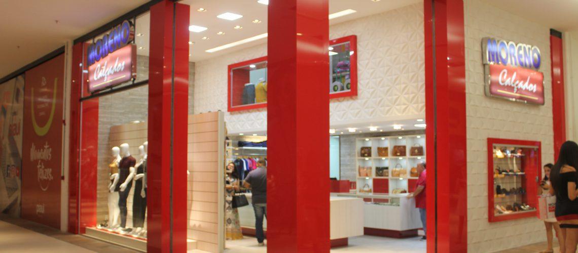 Loja Moreno Calçados no Piauí Shopping - Foto: Romário Mendes